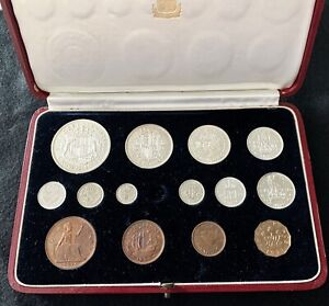 1937 Proof Set in Royal Mint Case. NO MAUNDY PENNY. UK REGISTERED BUYERS ONLY