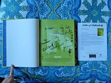 Disney's The Art of Mulan Limited Edition #220 of 740 Signed 10 Times