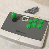 SEGA Dreamcast ARCADE STICK Fighting Controller HKT-7300 JAPAN OFFICIAL IMPORT