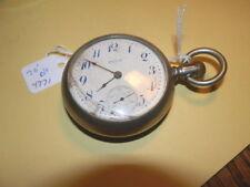 #5465,Vintage 1911 Ore Silver,Elgin,15J Pocketwatch,18s