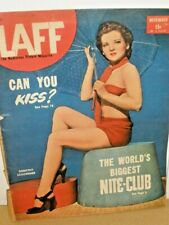 LAFF Magazine - Can You Kiss? - Dorothy Schoermer - 30 pp - 1946