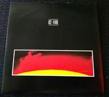 U2 - Fire  -  Irish Press  - 7 Single