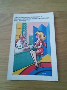 Vintage comic l.c.postcard unused