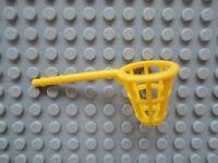 Lego 1 x Netz Korb Fangnetz Korb mit Stange x246  gelb 5914 4178 4165