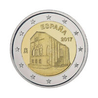 "Spain 2 Euro commemorative coin 2017 ""Oviedo - Asturias"" - UNC ***NEW***"