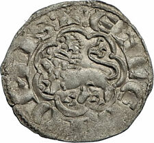 1278AD SPAIN Castile & Leon KING ALFONSO X the WISE Spanish Coin CASTLE i66739