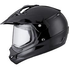 THH Tx-13 Plain Dual Sport MX Motocross off Road Adventure Helmet Lid GHOSTBIKES Black 55-56cm (s) Tx13s BLK