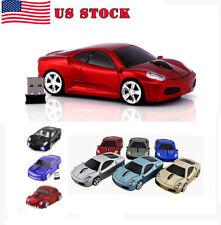 Gift 2.4Ghz Wireless USB car mouse Cordless Optical Laptop PC Computer MAC Mice
