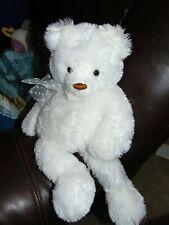"Gund Brighton Teddy Bear Plush White Fur 19"" 15235"