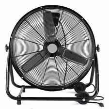 High Velocity Rolling Drum Fan 24