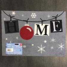 € 49,79/qm / Fußmatte Weihnachten Home Garland Des.931  / 40 cm * 60 cm