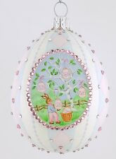 Patricia Breen Medallion Egg Birchwood