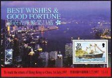 Isle of Man 546a,MNH.Michel 735 Bl.30. Return of Hong Kong to China, 1997.