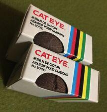 NOS Vintage CAT EYE No. 3000 COTTON HANDLEBAR TAPE Brown RUBAN POUR GUIDONS