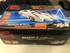 2008 Jada Toys Wb Speed Racer Mach 6 Vehicle Building Model Kit Snap N' Build