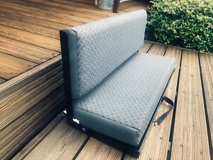 LAND ROVER DEFENDER 90 REAR BENCH SEAT IN TECHNO CLOTH, IN EXELLENT CONDITION.