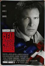 CLEAR AND PRESENT DANGER US FILM POSTER