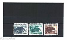 1961 Albania Fauna SG 673/5 Set of 3 MUH