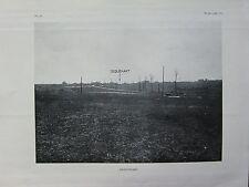 1918 WW1 WWI PRINT ~ VIEW OF SEQUEHART