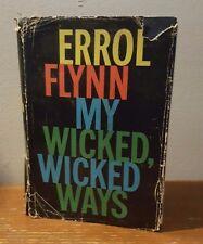 Errol Flynn My Wicked, Wicked Ways - 1960 1st  British Edition
