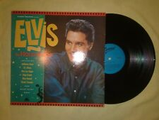 ELVIS PRESLEY IN HOLLYWOOD LP (EX) 1984 (EVEREST RECORDS)