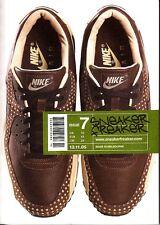Sneaker Freaker Magazine Issue 7 2005 NYC Adidas Converse Nike Puma BAPE