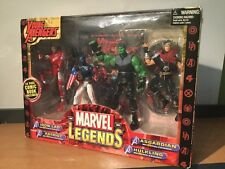 MIB Marvel Legends Young Avengers Iron Lad, Patriot, Asgardian And Hulkling 2006