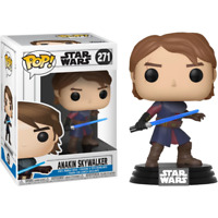 Anakin Skywalker #271 CLONE WARS Star Wars Funko Pop Vinyl New in Box
