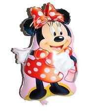 5 X Minnie Mouse Stagnola Palloncini Festa di Compleanno Decorazione/ogni occasione (58x48cm)