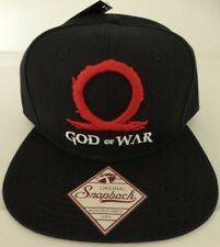 God of War Logo Video Game Snap Back Black Hat Nwt