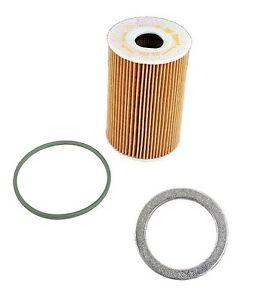 For Porsche 911 Cayenne Panamera F&P Aluminum Washer Mahle Oil Filter Kit