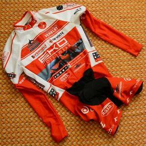 Eko Motorwear, Cycling long sleeve Skinsuit by Geest, Size Medium, Belgium