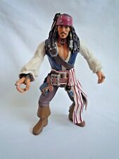 "DISNEY PIRATE OF THE CARRIBEAN  CAPT JACK SPARROW 7"" FIGURE / ZIZZLE 2006"