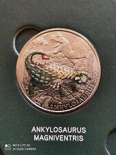 Österreich  3 Euro 2020 Ankylosaurus Magniventris Super Saurier