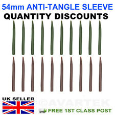 54MM LARGE ANTI TANGLE SLEEVES SOFT RUBBER CARP FISHING TERMINAL RIG TACKLE LEAD