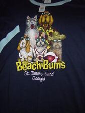 Beach Bums St. Simons Island Georgia T-Shirt Size 2X Large