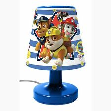 PAW PATROL BEDSIDE LAMP LIGHT KIDS BEDROOM LIGHTING OFFICIAL NEW FREE P+P