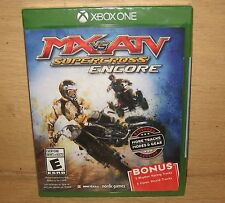 MX vs. ATV Supercross: Encore Microsoft Xbox One 2016 New Factory Sealed