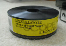 Movie Theatre Used 35mm Film Trailer -  Lincoln Lawyer