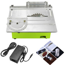 Portable Bench Table Saw Blade DIY Woodworking Cutting Polishing Carving Machine