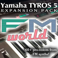 Tyros 5 / Genos  Expansion Pack - FM WORLD - 60+ pro-voices from FM synths