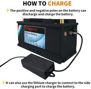 100Ah/200Ah 12V Lithium Batterie LiFePO4 Wohnmobil Boot Solar Akku BMS