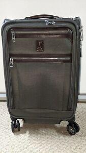 Travelpro Platinum Elite Softside Expandable Spinner Wheel Luggage, Vintage Grey