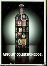 Cartolina Promocard Absolut Vodka #234 Collection 2003