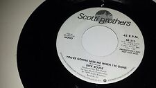 """RICK ROUSE You're Gonna Miss Me When I'm Gone SCOTTI BROTHERS 513 PROMO 45 7"""""""