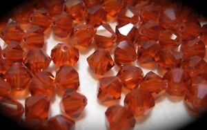 Authentic Swarovski Crystal  #5301,#5328 6mm Bicone Beads 30pcs pick color