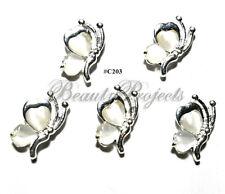 5pc Nail Art Charms 3D Nail Rhinestones Decoration Jewelry DIY Bling - C203
