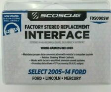Scosche Factory Stereo Replacement Interface FD5000SW Select 2005-14 Ford