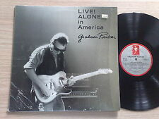 GRAHAM PARKER - LIVE! ALONE IN AMERICA - LP 33 GIRI ENGLISH PRESS