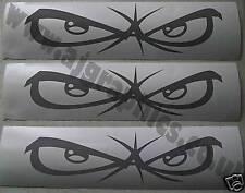 3 X No Fear Eyes Vinyl Cut Decal / Graphic / Sticker